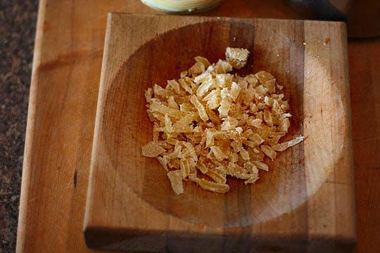 gingembre cristallisé