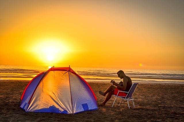 aller en camping