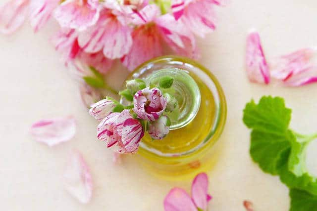 huile essentielle geranium