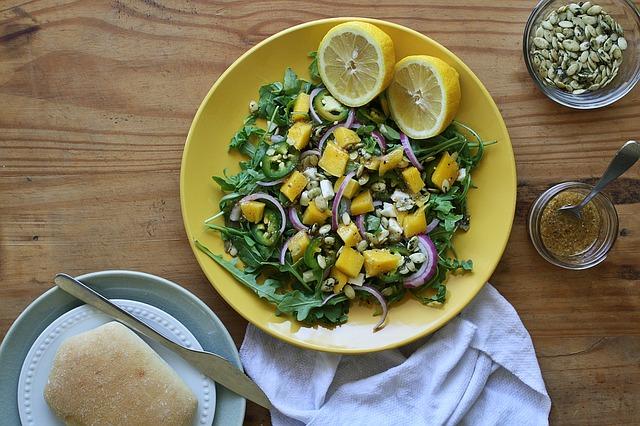 graines à manger salade