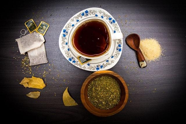 boire thé vert