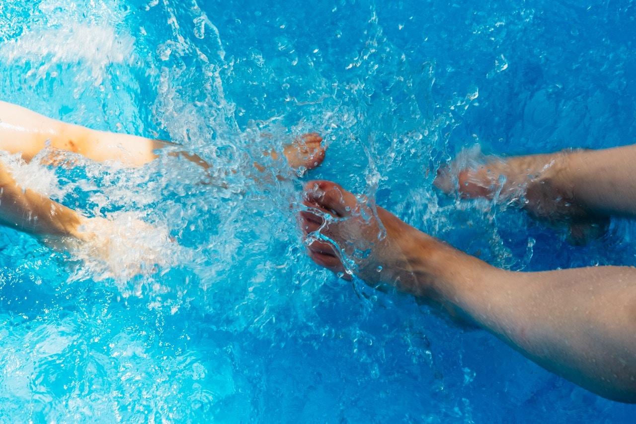 verrue plantaire piscine