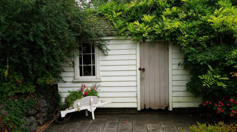 cabane de jardin brico