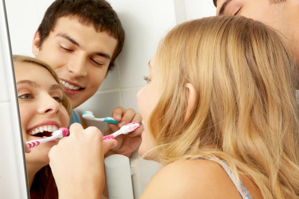 se brosser les dents régulièrement